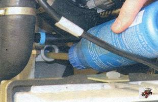 доливка масла в коробку передач Лада Калина ВАЗ 1118