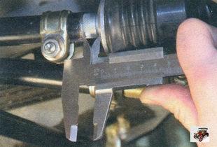 регулировка привода управления коробкой передач Лада Калина ВАЗ 1118