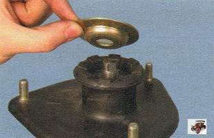 ограничительная шайба хода верхней опоры телескопической стойки Лада Калина ВАЗ 1118