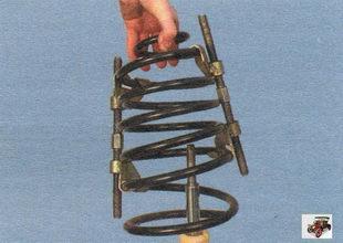 пружина амортизаторной стойки Лада Калина ВАЗ 1118