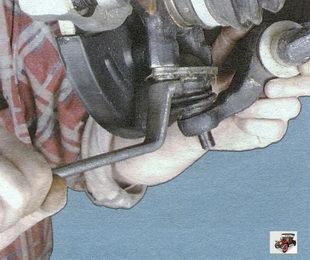 замена шаровой опоры Лада Калина ВАЗ 1118