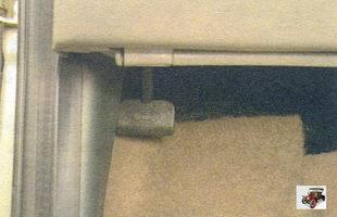 ручка привода замка капота Лада Калина ВАЗ 1118