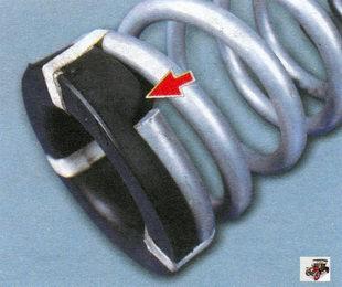 изоляционная прокладка пружины заднего амортизатора Лада Калина ВАЗ 1118