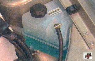 расширительный бачок охлаждающей жидкости Лада Калина ВАЗ 1118