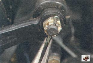 шплинт крепления гайки шарового пальца Лада Калина ВАЗ 1118