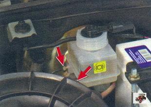 бачок главного тормозного цилиндра Лада Калина ВАЗ 1118