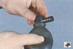 проверка работы вакуумного усилителя Лада Калина ВАЗ 1118