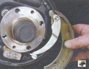 задняя тормозная колодка Лада Калина ВАЗ 1118
