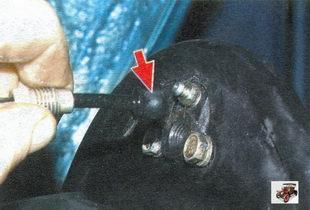замена заднего рабочего тормозного цилиндра Лада Калина ВАЗ 1118