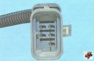 разъем проводов форсунок и моторного жгута