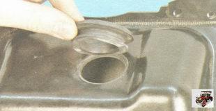 резиновая втулка гравитационного клапана