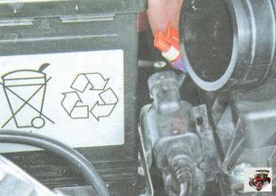 разъем проводов клапана продувки адсорбера