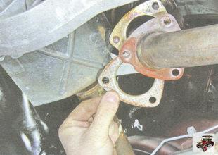 прокладка приемной трубы дополнительного глушителя