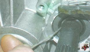 замена сальника первичного вала коробки передач
