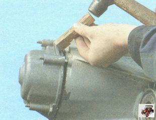 задняя крышка коробки передач