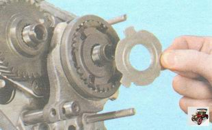 упорная пластина синхронизатора