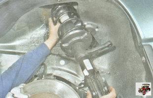 передняя стойка амортизатора Лада Гранта ВАЗ 2190
