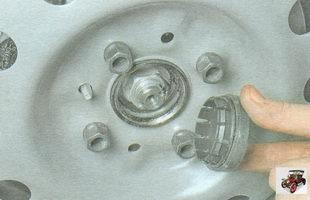 защитный колпак гайки крепления ступицы колеса