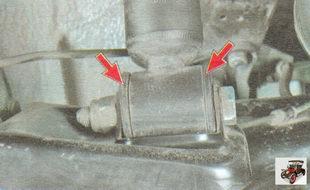 резиновые втулки нижних шарниров Лада Гранта ВАЗ 2190