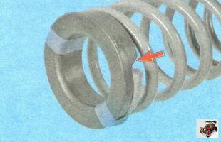 изоляционная прокладка пружины задней стойки амортизатора