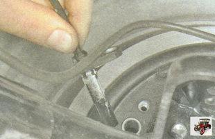 жгуты проводов от датчиков частоты вращения колес