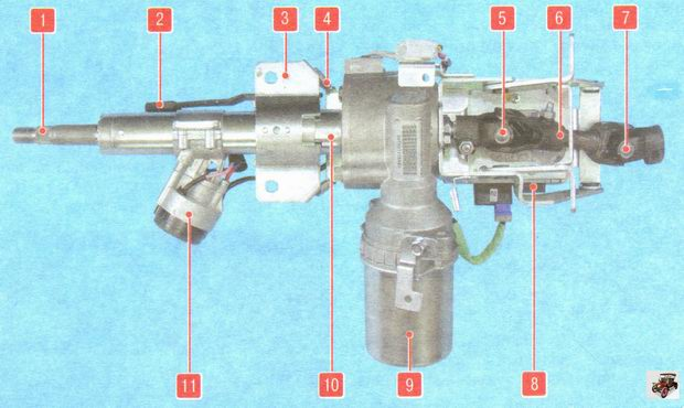 Рулевая колонка с электроусилителем Лада Гранта ВАЗ 2190