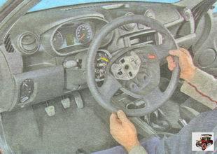 рулевое колесо Лада Гранта ВАЗ 2190