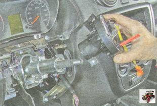 контактное кольцо подушки безопасности водителя