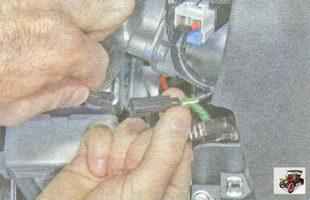 разъем антенного блока иммобилайзера Лада Гранта ВАЗ 2190