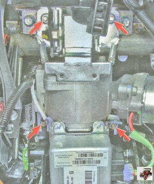 гайки крепления рулевой колонки Лада Гранта ВАЗ 2190