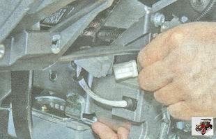 разъем усилителя рулевого управления