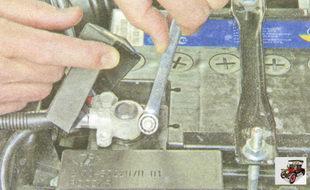 аккумуляторная батарея Лада Гранта ВАЗ 2190