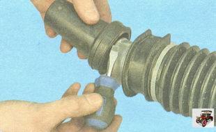защитный колпачок рулевого механизма