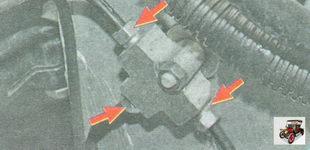 места проверки течи тормозной жидкости