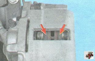 проверьте состояние тормозных колодок
