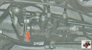регулятор давления тормозов задних тормозных механизмов