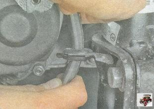 держатель тормозного шланга