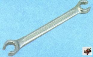 специальный ключ открычивания для гаек крепления тормозных трубок