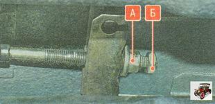 регулировка ручного тормоза на автомобиле