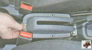облицовка рычага ручного тормоза