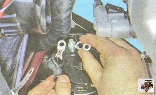 провод контактного болта генератора