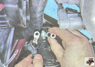 наконечник провода контактного болта генератора