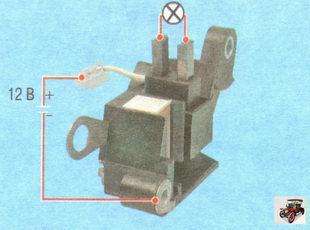 Фото №5 - ВАЗ 2110 как проверить реле регулятор генератора