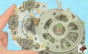выпрямительный блок генератора