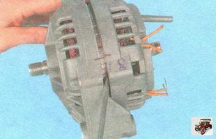 крышка генератора