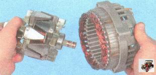 вал ротора генератора