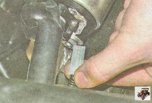 провод клеммы тягового реле стартера