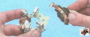 щетки стартера и прижимные пружины