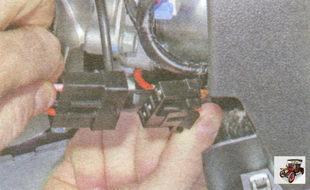 разъем контактной группы выключателя (замка) зажигания
