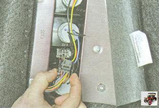 разъем жгута проводов заднего фонаря
